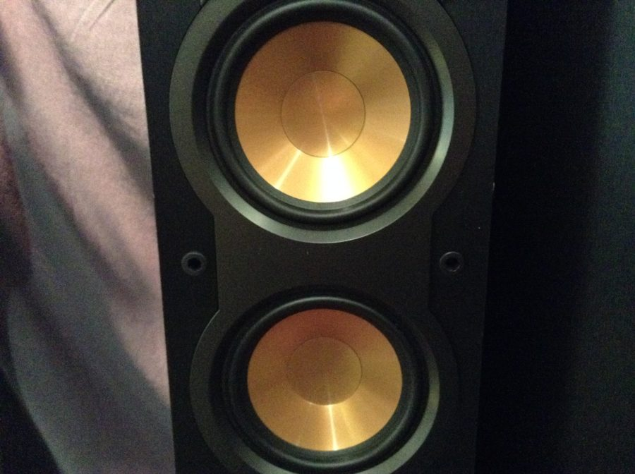 close up photo of speakers