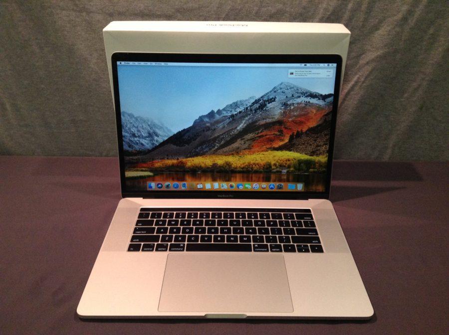 Macbook Pro with box